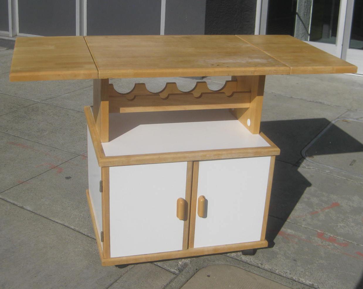 furniture collectibles sold butcher block kitchen island 70