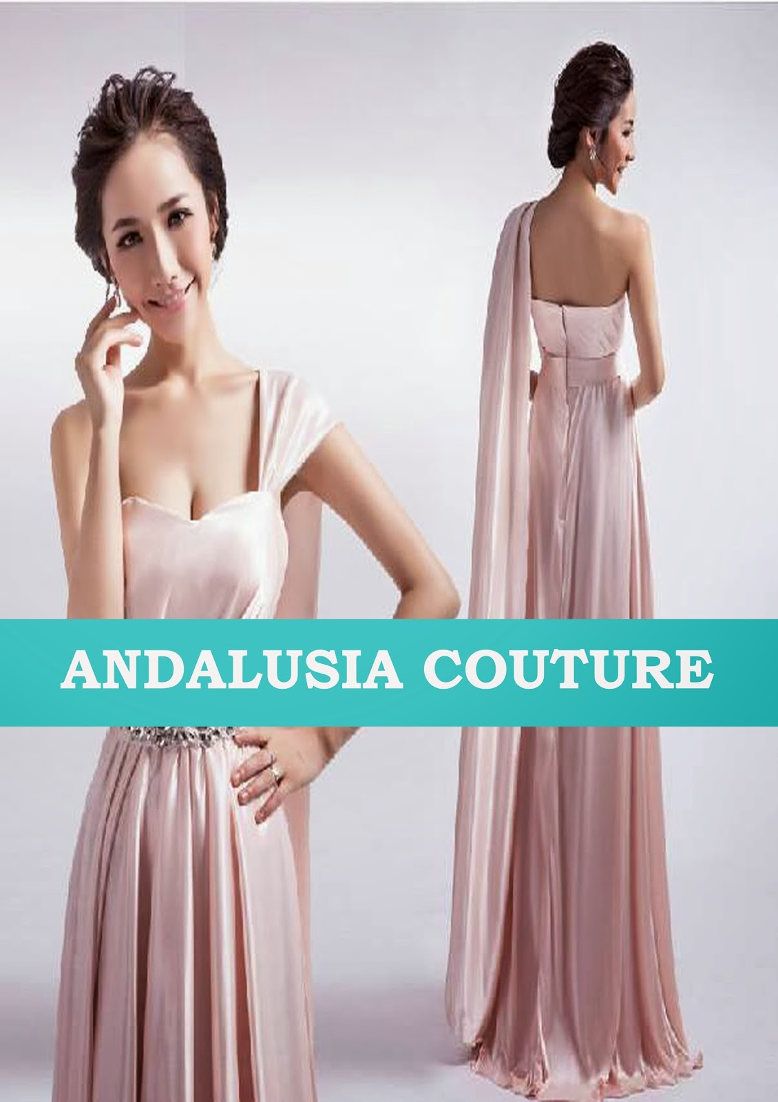 ANDALUSIA COUTURE: CHINESE NEW YEAR 50% SALE EVENING DRESS