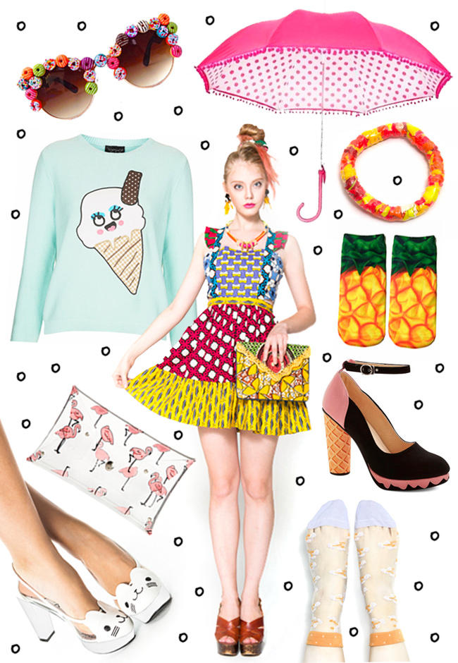wish list, summer fashion, ice cream fashion