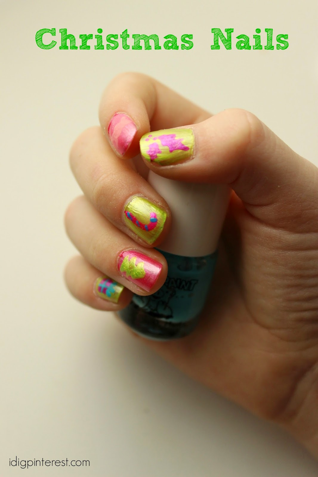 Kid-Friendly Polish, Christmas Nails Idea, plus a Piggy Paint Prize ...