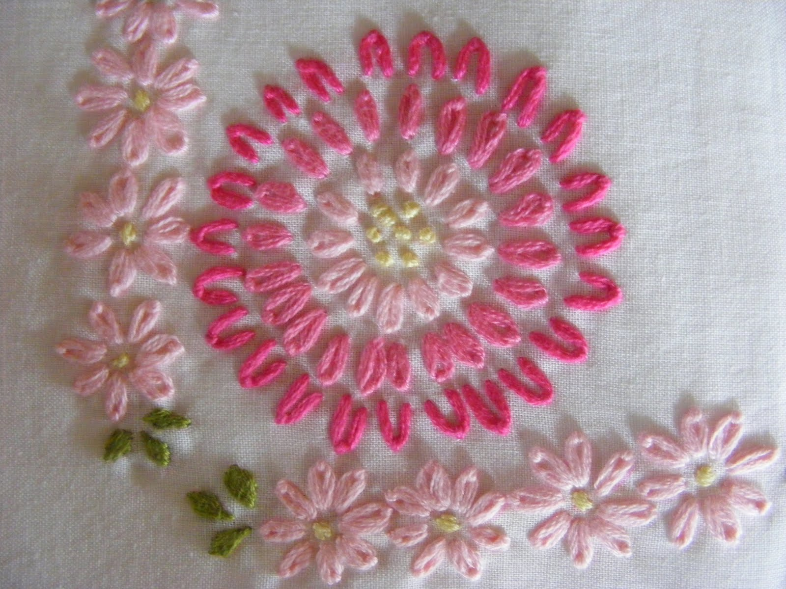 Embroidery Patterns For Pillowcases  Free Embroidery Patterns