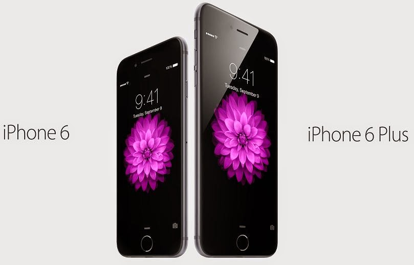 iPhone 6 and iPhone 6 Plus