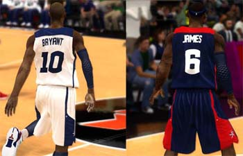 NBA 2K12 Team USA 2012 Jersey Patch 2k13