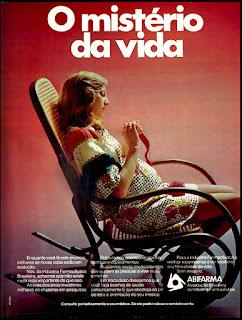 ABIFARMA, 1974. década de 70. os anos 70; propaganda na década de 70; Brazil in the 70s, história anos 70; Oswaldo Hernandez;
