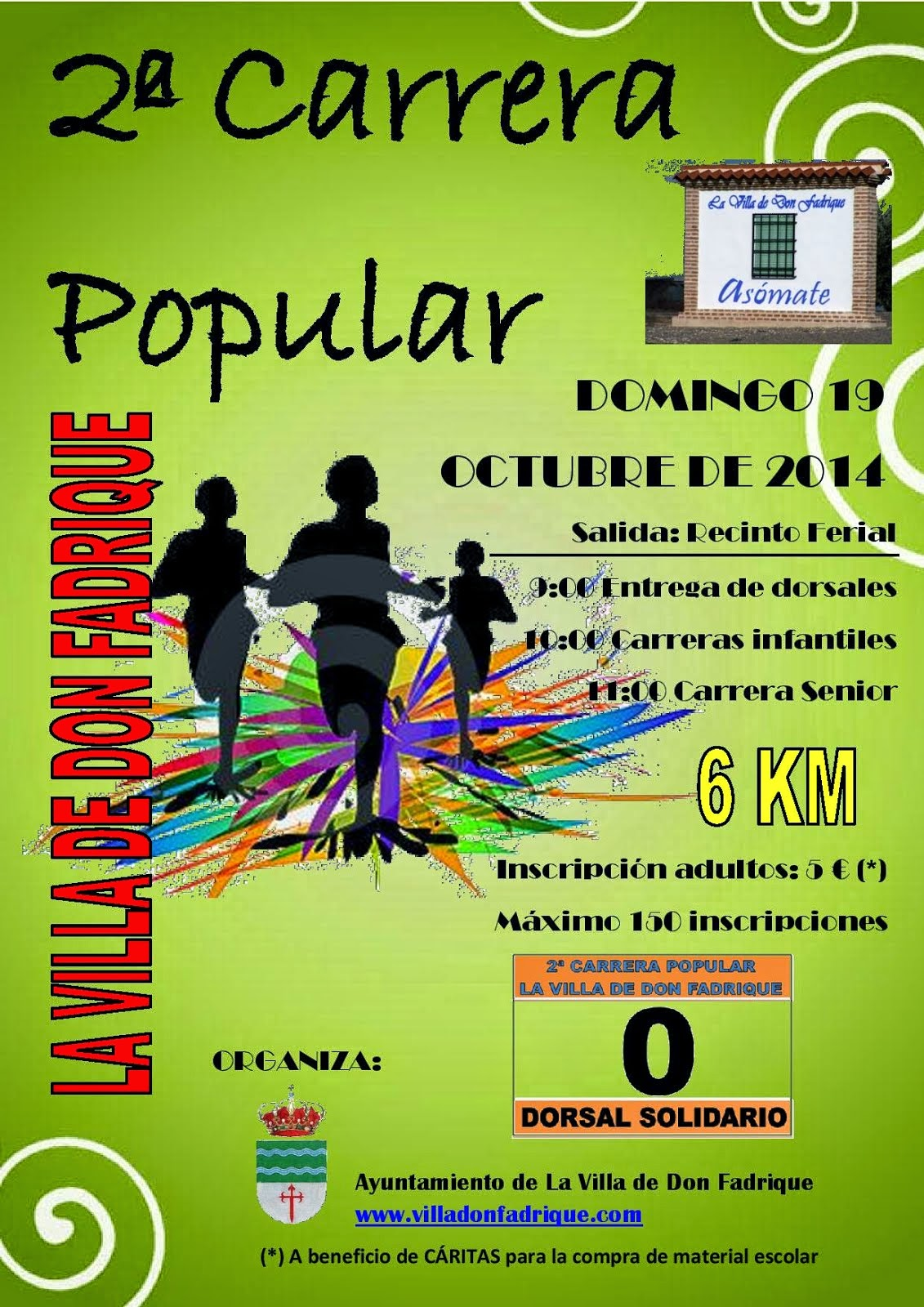 2ª Carrera Popular de La Villa de Don Fadrique