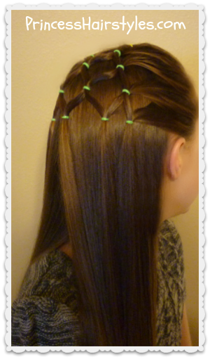 Elastic tree hairstyle video