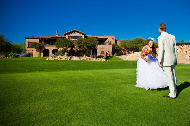 Refuge Golf Course Wedding