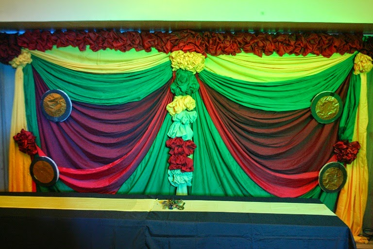 Department Christmas Party Ideas Part - 41: ... Of Stage Backdrop Design Idea Made And Agreed Between Sersan Event  Decoration Theme And University Of The Philippines Law Department For Their  Party ...