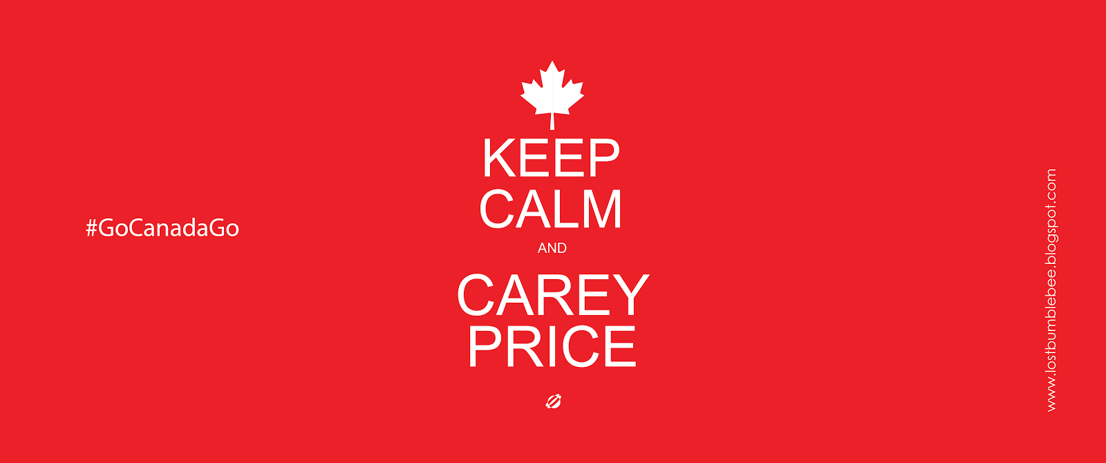 LostBumblebee ©2014 KEEP CALM AND CAREY PRICE FACEBOOK