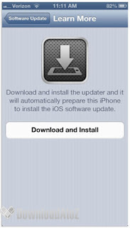 upgrade iPhone 5 to iOS 6.0.1