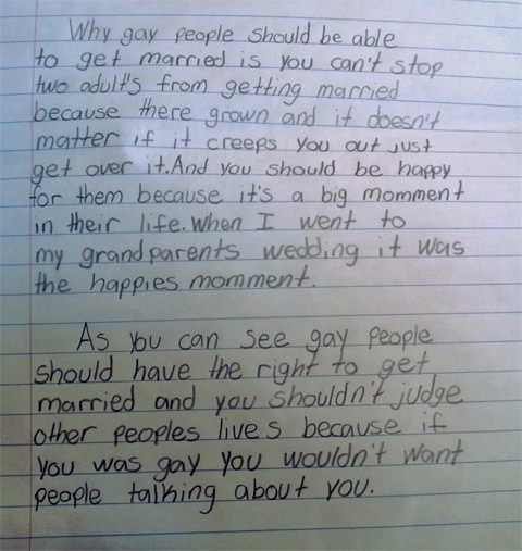 pro gay marriage essay conclusion