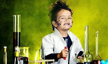 pequeño cientifico