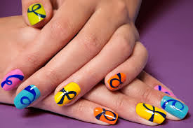 Nail cut and design style