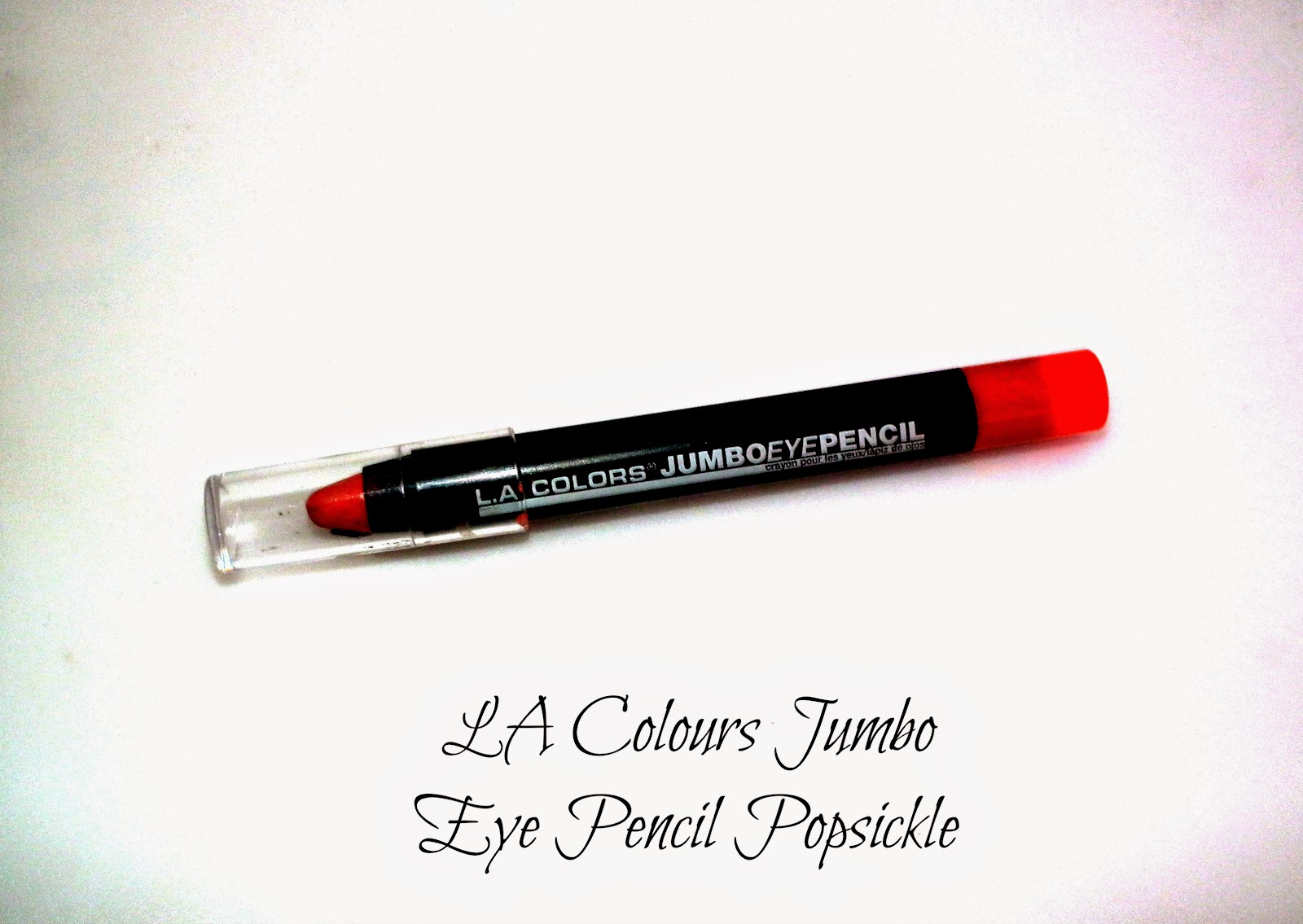 LA Colours Jumbo Eye Pencil Popsickle Swatches
