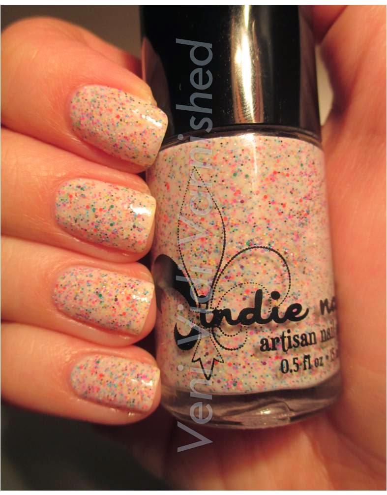 Jindie Nails Betty's Fetti Milkshake