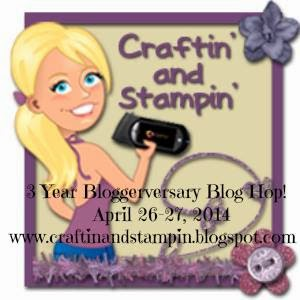 3 Year Bloggerversary Blog Hop