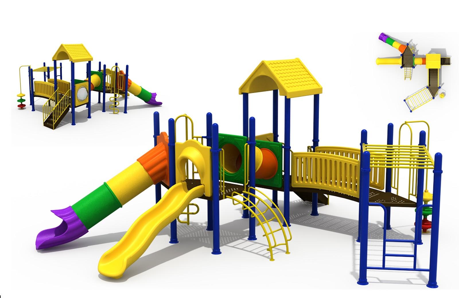 EDU Zone Playground Layout Reference Advance Order