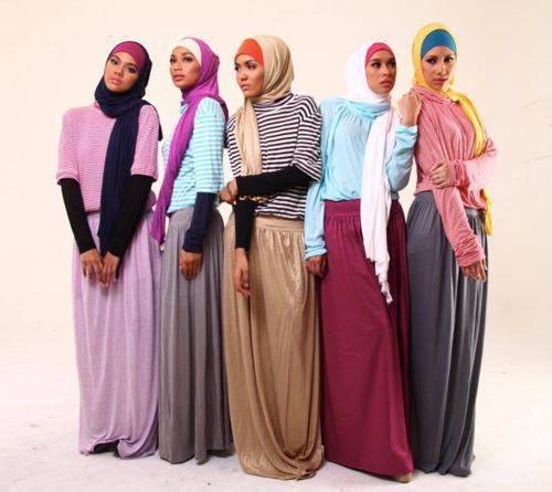 Hijab a enfiler en été