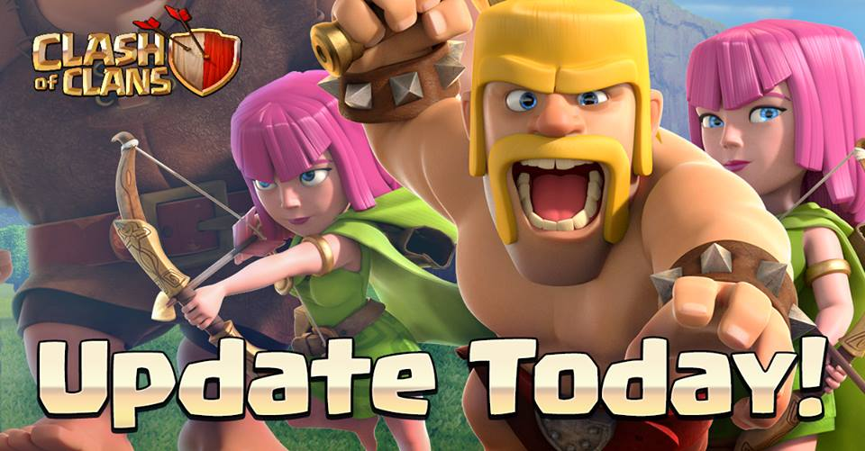 Update Today Clash oF clans April 30