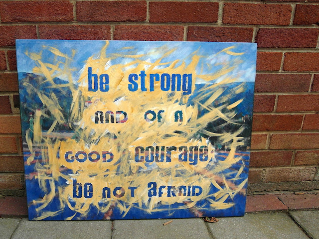 quotes on canvas art