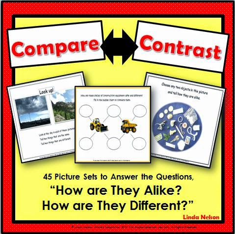 http://www.teacherspayteachers.com/Product/Compare-Contrast-45-Picture-Sets-and-Graphic-Organizers-389832