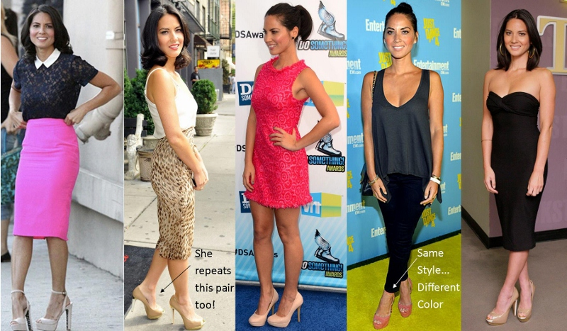 Olivia Munn Sole Society Shoes
