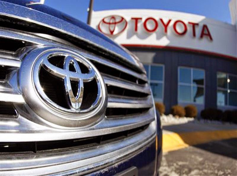 Penjualan Toyota Meningkat 2014