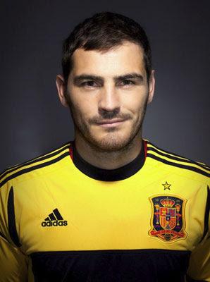 camiseta selección española Copa Confederaciones Iker Casillas 2013