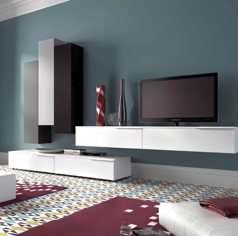 Fotografias de muebles de salon modernos - Salones juveniles modernos ...
