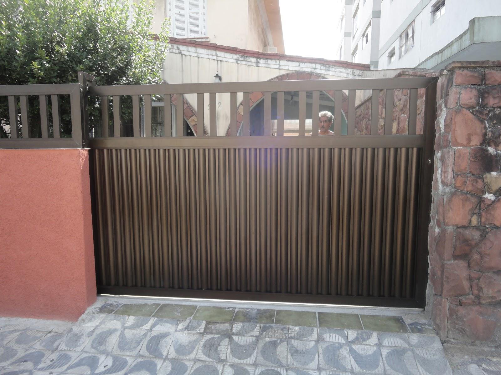 #884C43 Como fazer portão de aluminio: 1ª parte Como fazer portão de  804 Limpar Janelas Aluminio