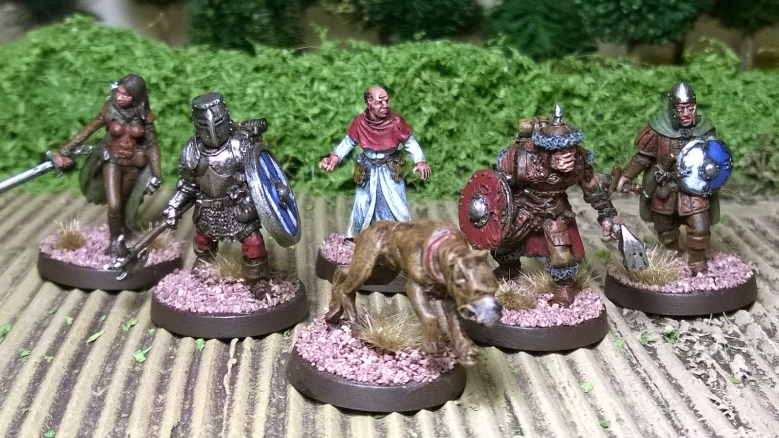 heresy otherworld miniature war dog skirmish game