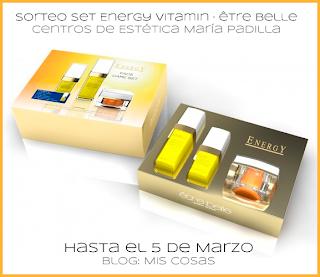 Imagen de Sorteo 2 sets Energy Vitamin de être belle