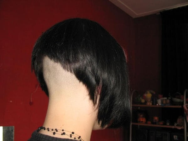 Short Hair Styles: Shaved Napes