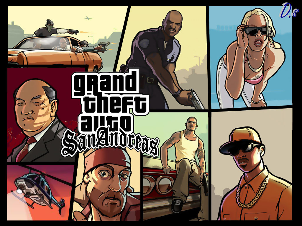 Grand Theft Auto San Andreas : Pretty cool games grand theft auto san andreas