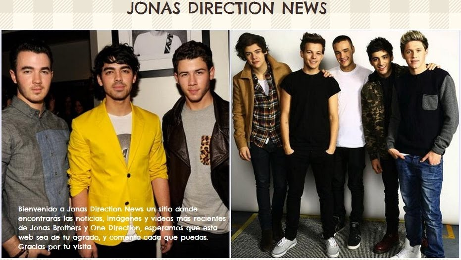 Jonas| Direction| News