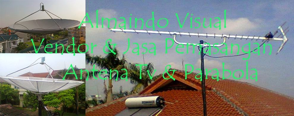 Harga Paket Antena Parabola Digital Murah | Toko Jasa Pasang Antena Parabola Digital