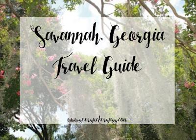 Travel Tuesday:  Savannah, Georgia