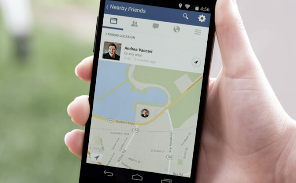 Facebook Nearby Friends for Android and iPhone