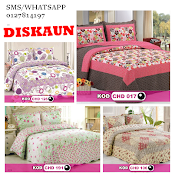 Cadar patchwork 100% Cotton King/Queen Termurah 2014 HANYA RM149 + FREE POSTAGE