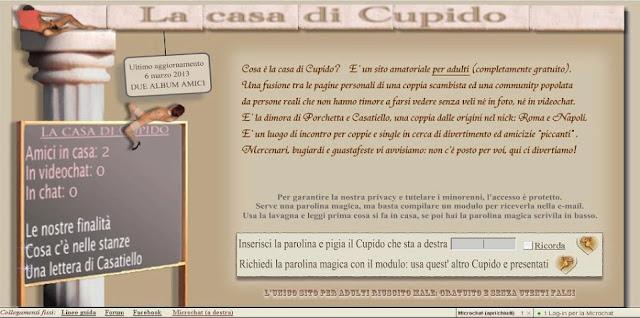 giochi erotici di coppia cupido italia 1