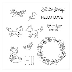 Hello Foxy - Stamp of the Month