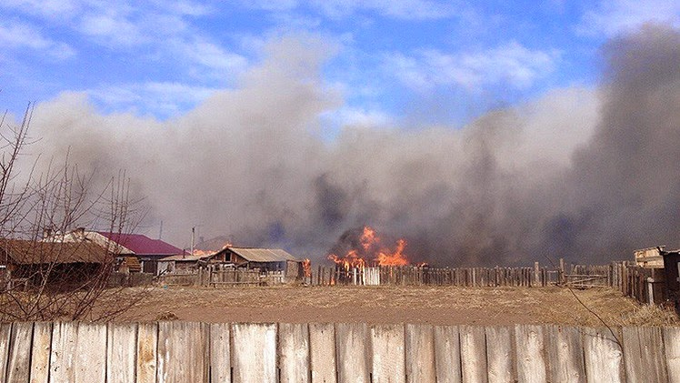 Incendios frestales República de Jakasia