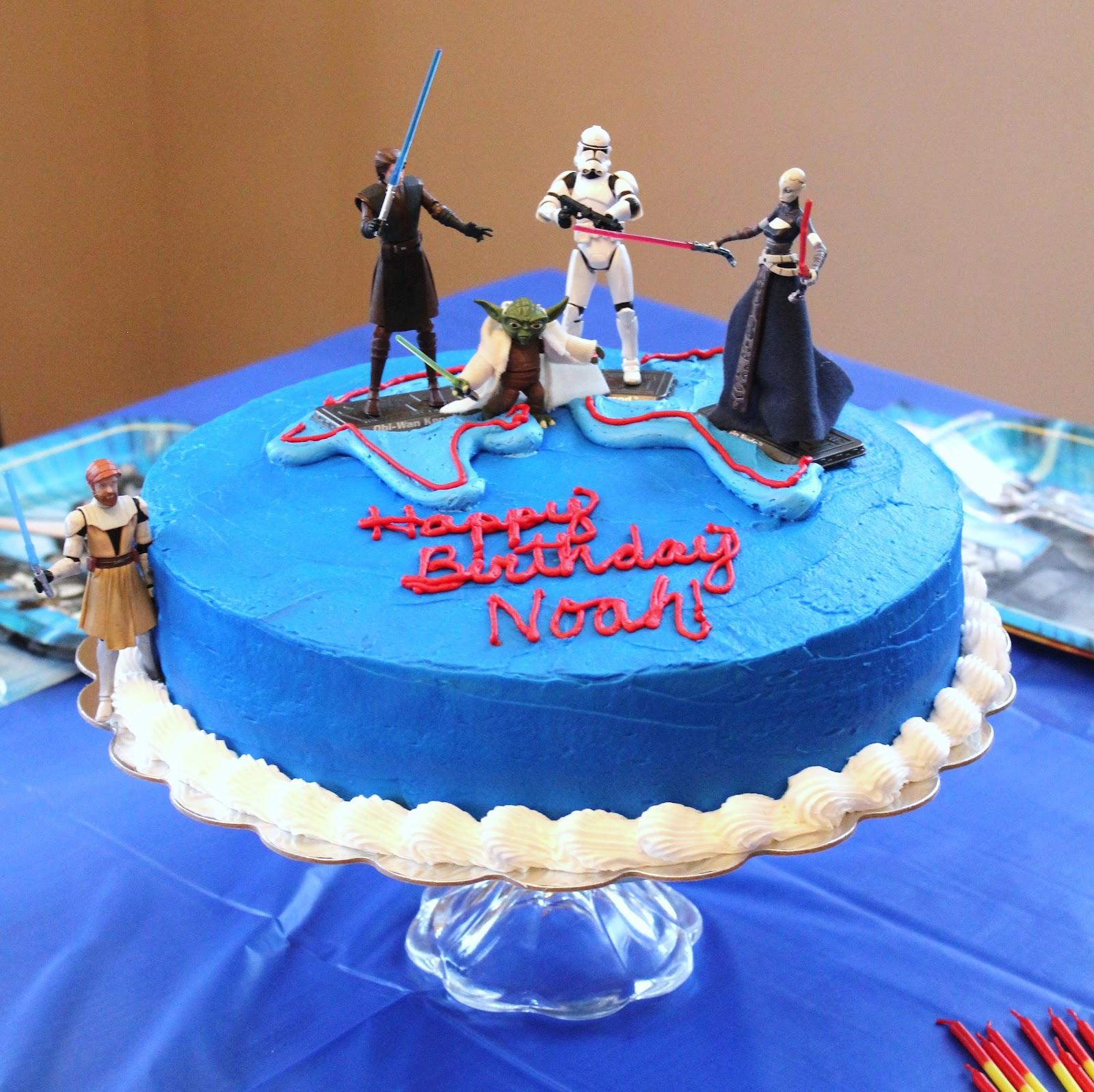Say It Sweetly Star Wars The Clone Wars Birthday Cake More