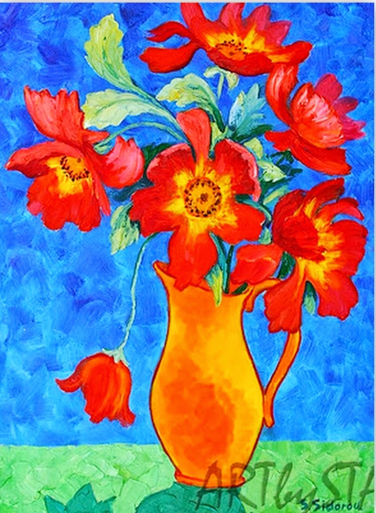 flores-pintadas-al-oleo-con-espátula