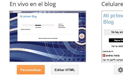 Cambiar el fondo de tu blog en Blogger