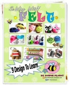 Ebook Sewing With Felt RM30