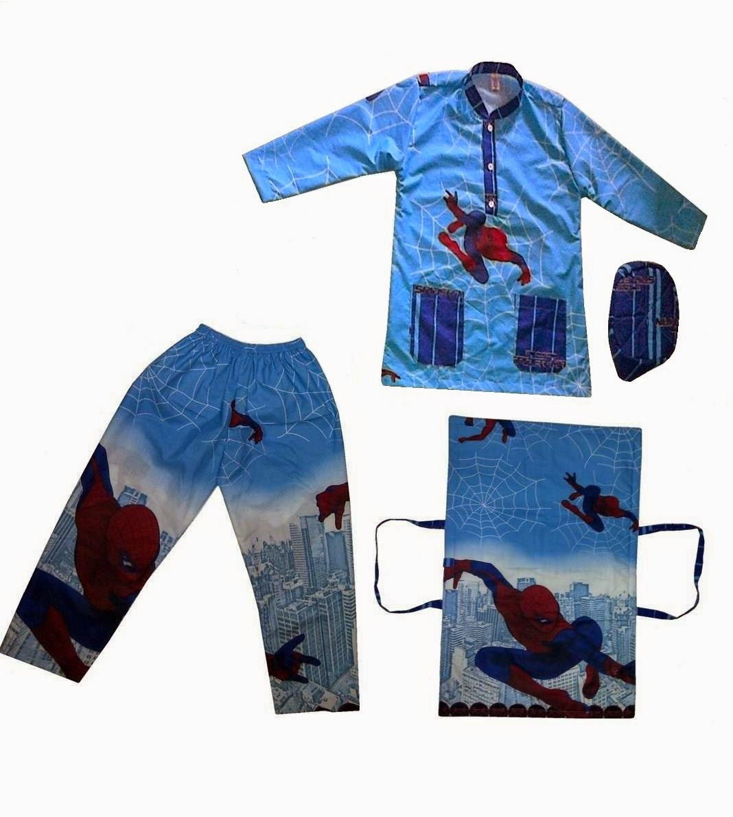 Baju Koko Spiderman
