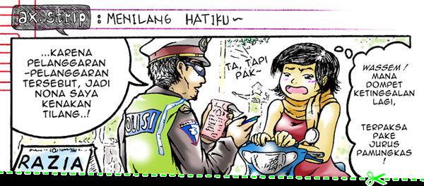axstrip : #Menilang Hatiku~_page1_by Ax!