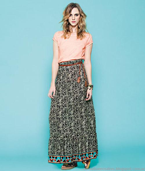 Nucleo Moda primavera verano 2014 faldas.