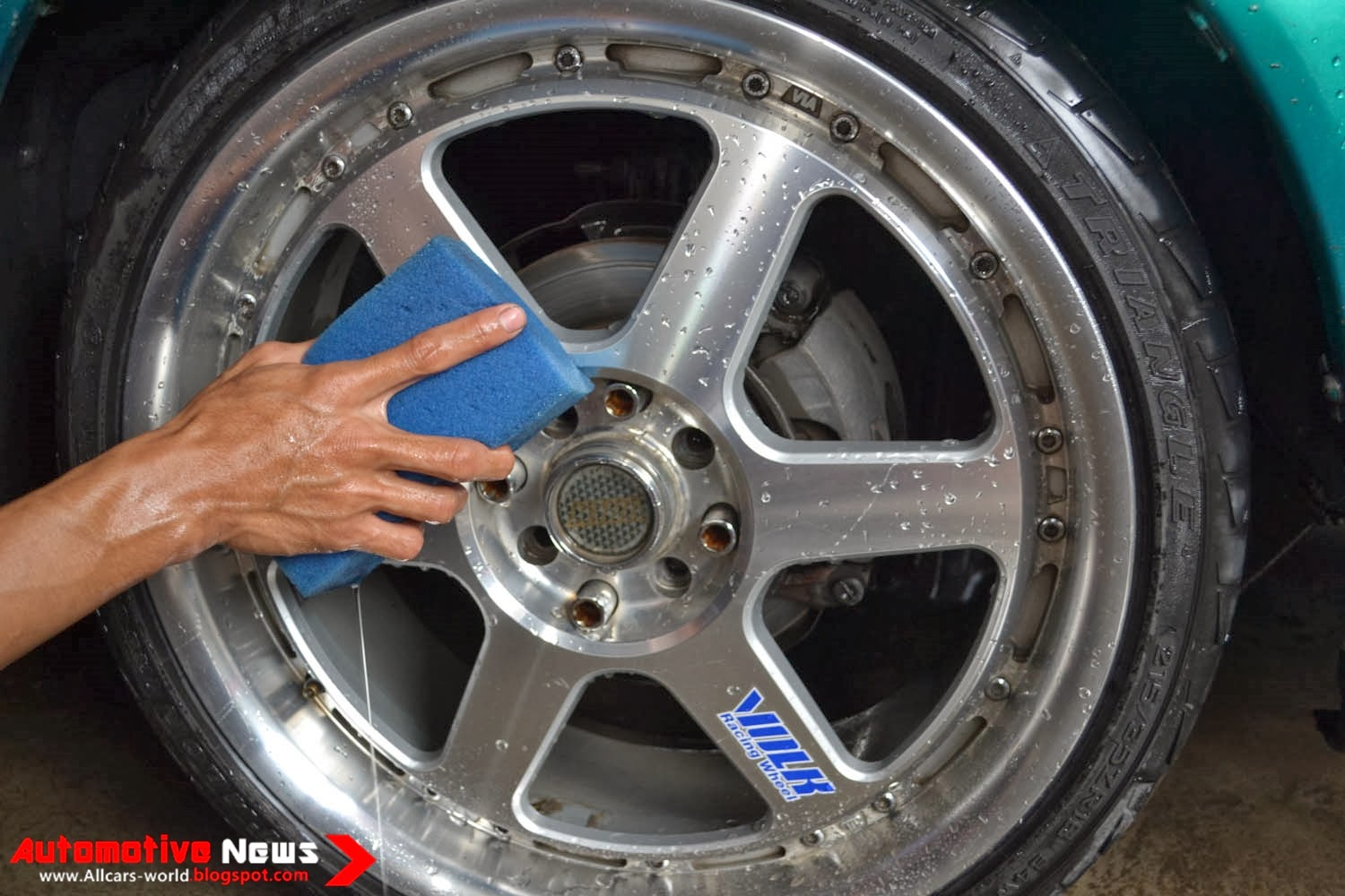 how to keep your alloy wheels clean